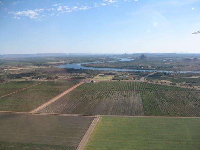 Kununurra, fertile vegetable growing area