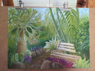 Our garden, acrylic_4000x3000